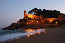 Castle in Tossa de Mar, Spain von Melania Mazur