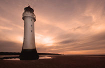 Dusk at New Brighton by Wayne Molyneux