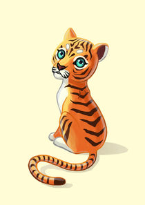 Tiger Cub von freeminds