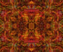Mohair Mandala by Richard H. Jones
