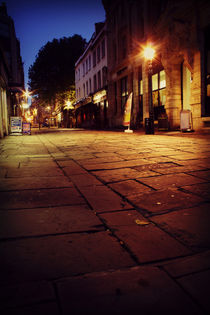 Clare Street Bristol at night by Dan Davidson