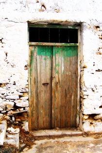 Cretan door no4 von Pia Schneider