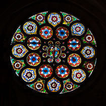 Rose Window in Saint Thomas by safaribears