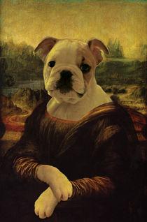 'WUFF! Die kleine Mona Lisa' von Caterina Pecat