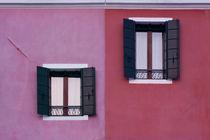 Facade of Burano by Mickaël PLICHARD
