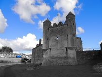 Enniskillen Castle Blue Colour Isolation by John McCoubrey