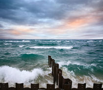 Point Betsie Seawall von Paul Lemke