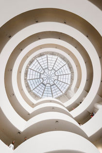 Guggenheim Museum Interior. by Tom Hanslien