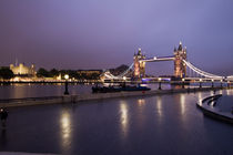 City Hall and Tower of London and Tower Bridge von David J French