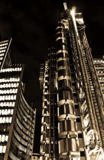 Lloyd's Building London by David Pyatt