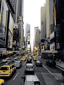Times Square New York by Lisé Fitch