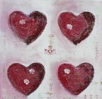 Herzen im Quadrat by Elke Sommer