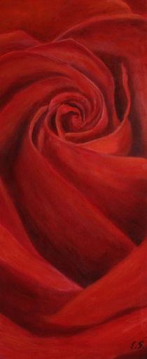 Rote Rose by Elke Sommer