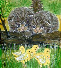kleine Wildkatzen von Heidi Schmitt-Lermann