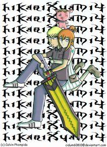 HikariXyami IV 4 Manga von calpho