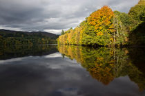 Pitlochry reflections by Sam Smith