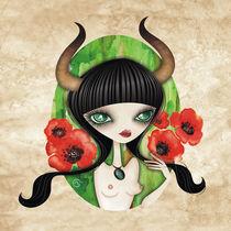 Taurus - Zodiac Series von Sandra Vargas