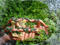 Fairy on Bridge by Christi Ann Kuhner