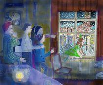 Weihnachtsabend 2 by Heidi Schmitt-Lermann