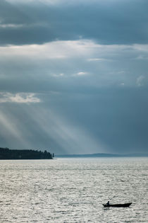 Sea and Solitude II by Lars Hallstrom