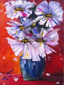 Flowers-in-blue-vase