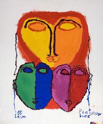 Drei Masken by haselnusstafel