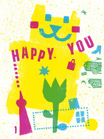 Happy You in Berlin von Ulrike  Jensen