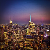 New York City Skyline at Twilight by Chris Lord