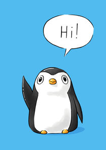 Hi Penguin von freeminds