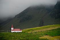 Icelandic church by Federico C.