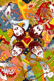 Sgt. Pepper's Lonely Hearts Club Band von Julia Minamata