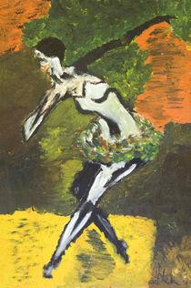 Tänzerin von haselnusstafel