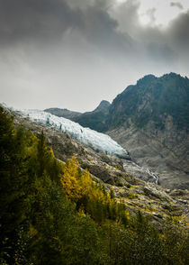 Glacier des Bossons - 2  by Russell Bevan Photography