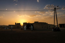 Berber Wedding Sunset by Russell Bevan Photography