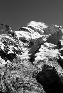 Glacier des Bossons & Mont Blanc von Russell Bevan Photography