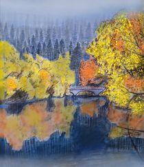 Herbstliche Isarauen by Heidi Schmitt-Lermann