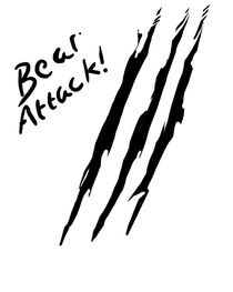 Bear Attack by Annie Lewis