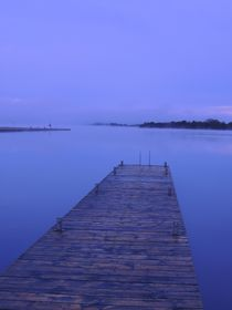 A Jetty on Lough Erne at Dawn von John McCoubrey
