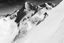 Snowboarder, Obergurgl by Ross Woodhall