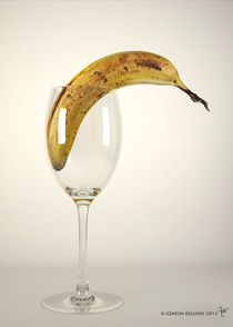 Banana in glass1 by Joakim Eklund