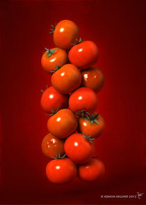 Tomatoes in air1. by Joakim Eklund