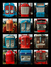 Tractors by Martin Williams