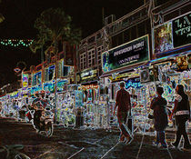penang night lights von E-lena BonapArte