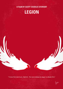 No050 My legion minimal movie poster von chungkong