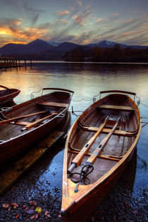 Derwent Water Sunset by Martin Williams