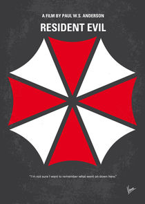 No119-my-resident-evil-minimal-movie-poster