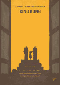 No133-my-king-kong-minimal-movie-poster