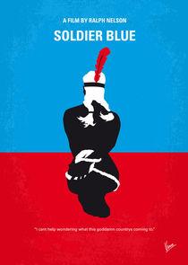 No136 My SOLDIER BLUE minimal movie poster von chungkong