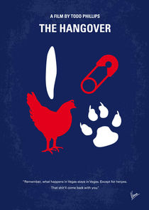 No145 My THE HANGOVER minimal movie poster von chungkong