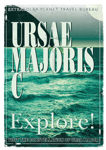 Exoplanet 03 Travel Poster Ursae Majoris by chungkong